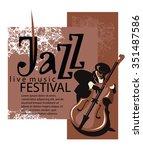 Постер, плакат: Jazz poster concept Man