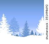 image  landscape. eco banner....   Shutterstock . vector #351498692
