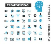 creative technology  ideas ... | Shutterstock .eps vector #351501182