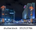 raleigh  north carolina... | Shutterstock . vector #351515786
