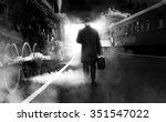 Black And White Photo Of Man I...