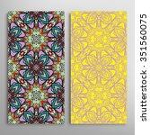 vertical seamless patterns... | Shutterstock .eps vector #351560075