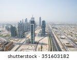 united arab emirates  dubai  07 ... | Shutterstock . vector #351603182