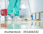 floor care and cleaning... | Shutterstock . vector #351606332