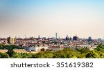 aerial view of vienna city... | Shutterstock . vector #351619382