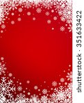 winter  christmas or new years... | Shutterstock .eps vector #351633422