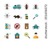 home pest control expert... | Shutterstock .eps vector #351656072