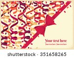 horizontal template with red...   Shutterstock .eps vector #351658265