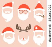 Vector Collection Of Santa Hat...
