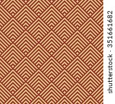 seamless burgundy red and beige ... | Shutterstock . vector #351661682