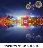 Beautiful Fireworks Hong Kong Island - Fine Art prints
