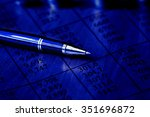 data analyzing in stock market  ... | Shutterstock . vector #351696872