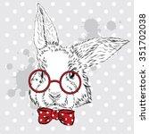 Rabbit Vector . Hand Drawing O...