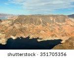 nevada's desert near las vegas  ...   Shutterstock . vector #351705356