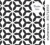 vector pattern. repeating... | Shutterstock .eps vector #351713552