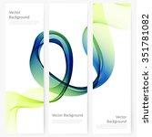 abstract template vertical... | Shutterstock .eps vector #351781082
