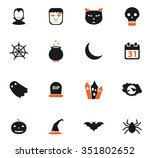 Halloween Simple Symbol For We...
