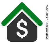 loan mortgage vector icon.... | Shutterstock .eps vector #351848042