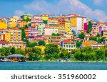 View Of The Golden Horn Bay In...
