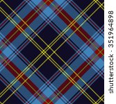 check plaid pattern  scottish... | Shutterstock .eps vector #351964898
