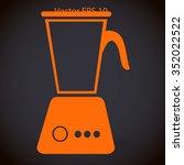 stationary blender vector... | Shutterstock .eps vector #352022522