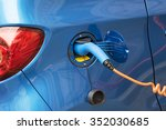 electric car charging | Shutterstock . vector #352030685