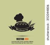 bakery graphic design   vector... | Shutterstock .eps vector #352044806