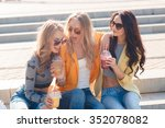 vacation  weekend  drinks and... | Shutterstock . vector #352078082
