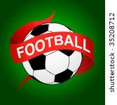 football icon | Shutterstock .eps vector #35208712