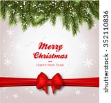 christmas background realistic... | Shutterstock .eps vector #352110836