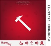 hammer icon | Shutterstock .eps vector #352137455