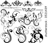 design elements | Shutterstock .eps vector #3521439