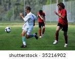 kaposvar  hungary   august 12 ... | Shutterstock . vector #35216902