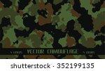 vector camouflage | Shutterstock .eps vector #352199135