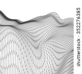 hexagon abstract vector...   Shutterstock .eps vector #352276385