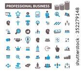 professional business  money ...   Shutterstock .eps vector #352279148