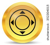 joystick icon. internet button... | Shutterstock . vector #352304015