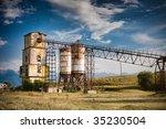 old  rock crushing machines in... | Shutterstock . vector #35230504