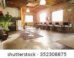 empty interior of modern design ... | Shutterstock . vector #352308875