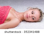 close up portrait of a... | Shutterstock . vector #352341488
