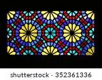 window texture | Shutterstock . vector #352361336