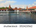 Small photo of Popular balneal resort at lake Heviz, Hungary