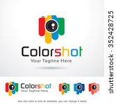 color photography logo template ... | Shutterstock .eps vector #352428725