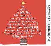 Christmas Tree Bible Verse....