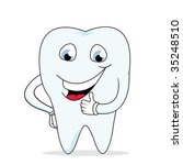 funny tooth | Shutterstock .eps vector #35248510