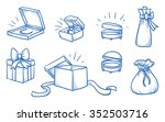 set of different jewelry and... | Shutterstock .eps vector #352503716