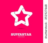 star vector logo with text for...   Shutterstock .eps vector #352527668