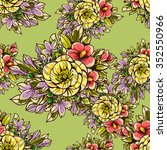 abstract elegance seamless... | Shutterstock . vector #352550966