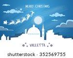 Santa Claus Sleigh Reindeer Fly ...