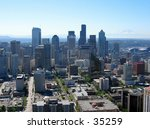 downtown seattle from the... | Shutterstock . vector #35259
